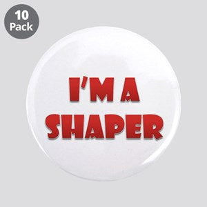 "Shaper 3.5"" Button (10 Pack)"