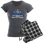 K-9 Police Women's Charcoal Pajamas