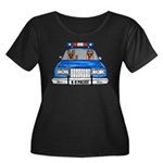K-9 Police Plus Size T-Shirt