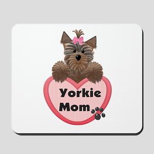 Yorkie Mom Mousepad