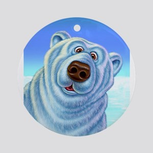 polar bear polar bears Ornament (Round)