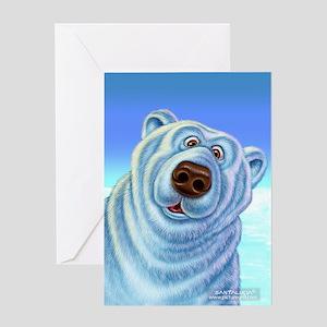 polar bear polar bears Greeting Card