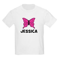 Butterfly - Jessica Kids T-Shirt