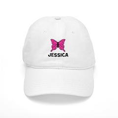 Butterfly - Jessica Baseball Cap