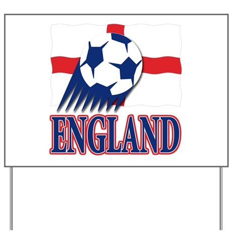 England World cup Soccer Yard Sign