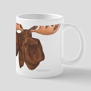 moose head antlers Mug