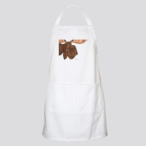 moose head antlers BBQ Apron