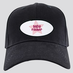 Baby Esther Black Cap
