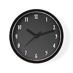 Carbon Fiber Wall Clock
