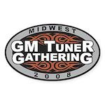 Midwest GM Tuner Gathering Sticker