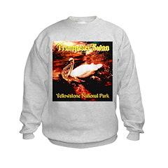 Trumpeter Swan Yellowstone Nationa Sweatshirt
