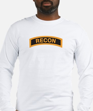 Recon Tab Black and Gold Long Sleeve T-Shirt