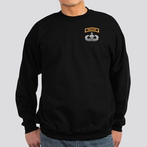 Recon Tab over Senior Airborn Sweatshirt (dark)