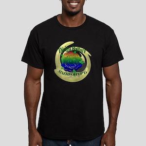 Rainbow Rose Men's Fitted T-Shirt (dark)