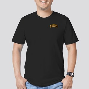 Scout Tab Men's Fitted T-Shirt (dark)