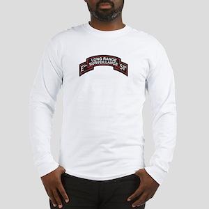 E Co 51st Infantry LRS Scroll Long Sleeve T-Shirt