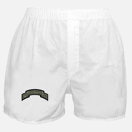 82nd Airborne Long Range Surv Boxer Shorts