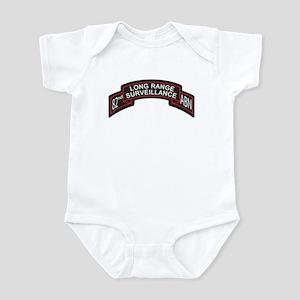 82nd Airborne LRS Scroll, Clr Infant Bodysuit