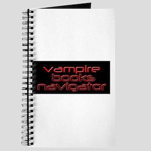 Vampire Books Navigator Journal