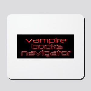 Vampire Books Navigator Mousepad