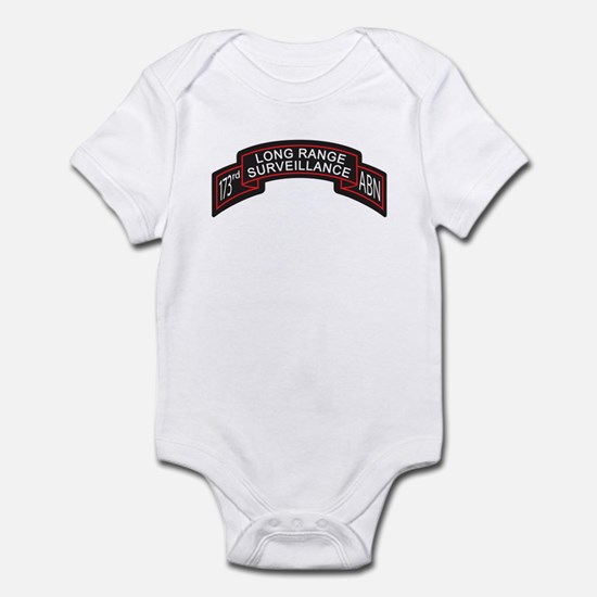 173rd Airborne LRS Scroll, Cl Infant Bodysuit