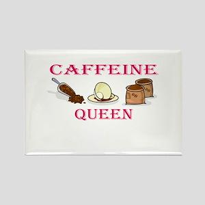 Caffeine Queen Rectangle Magnet