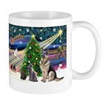 XmsMagic-GShep-2cats Mug