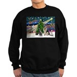 XmsMagic-GShep-2cats Sweatshirt (dark)