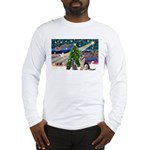 XmsMagic-GShep-2cats Long Sleeve T-Shirt