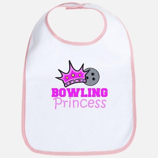 Bowling Princess Bib