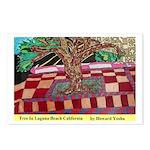 Tree In Laguna Beach Postcards (Package of 8)