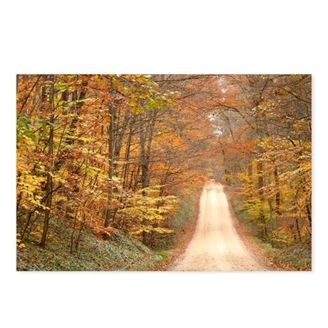 Autumn Road Postcards (Package of 8)