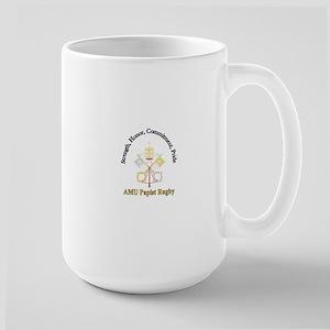 Papist Rugby Large Mug