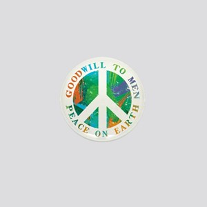 Peace on Earth Mini Button (10 pack)