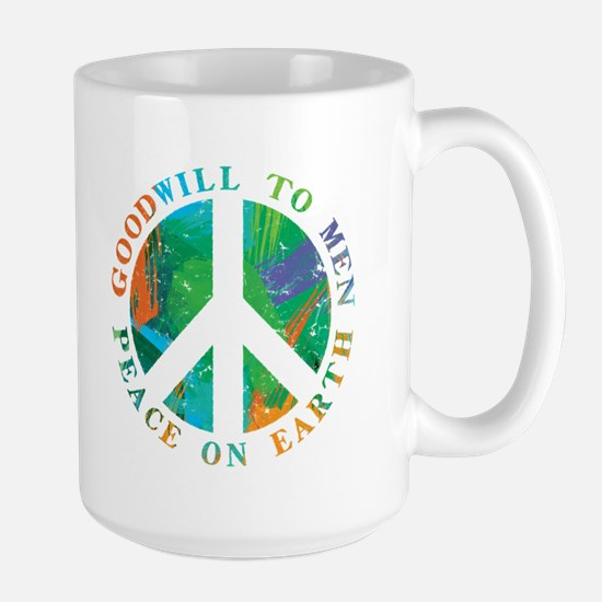 Peace on Earth Large Mug