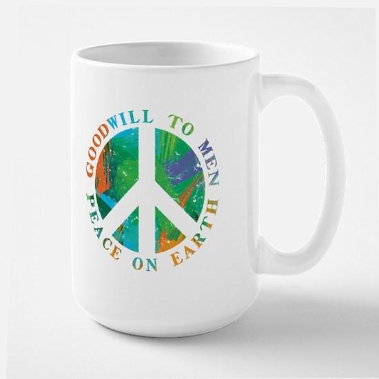 Peace on Earth Large Mug