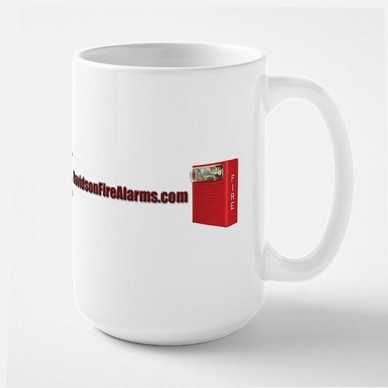 DavidsonFireAlarms.com Full Logo 2 Mugs