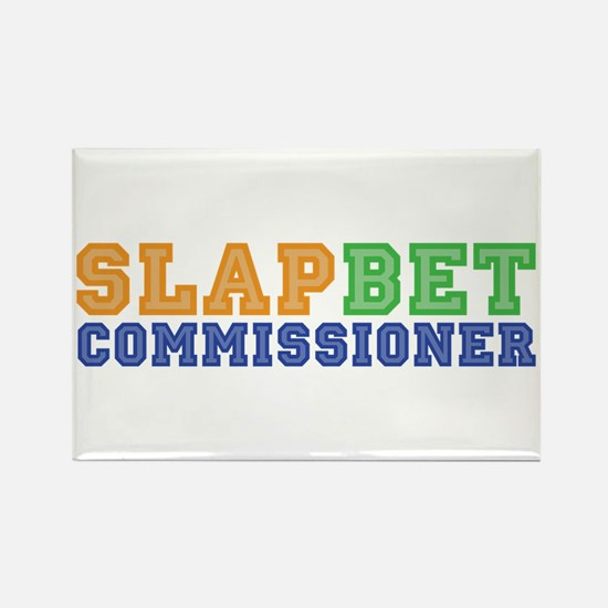 Slap Bet Commissioner Rectangle Magnet