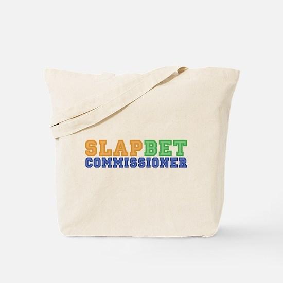 Slap Bet Commissioner Tote Bag
