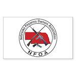 Nebraska Firearm Owners Assoc Rectangle Sticker 1