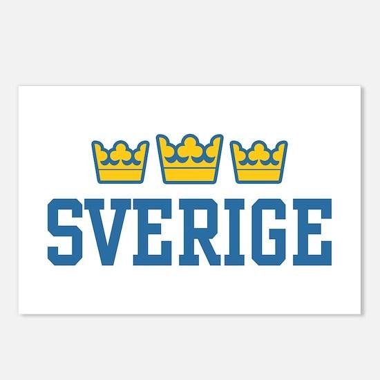 Sverige Postcards (Package of 8)