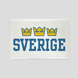Sverige Rectangle Magnet