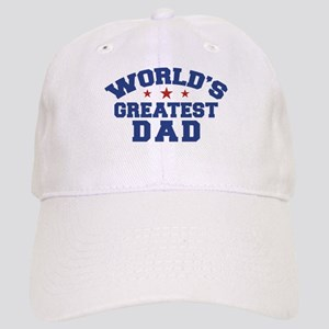cd23a25747f Worlds Greatest Dad Hats - CafePress
