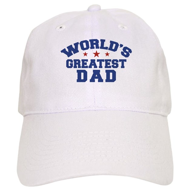 World s Greatest Dad Baseball Cap by dweedletees 221bbdb9f79