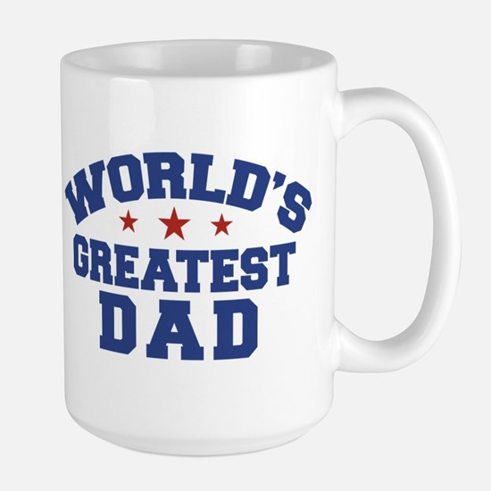 World's Greatest Dad Large Mug