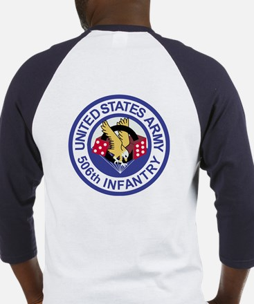 506th Infantry Regiment Baseball Jersey