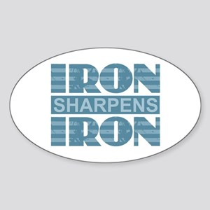 Iron Sharpens Iron Sticker