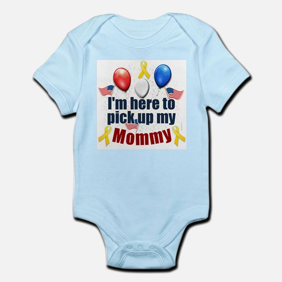 Pick up my Mommy Infant Bodysuit