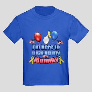 Pick up my Mommy Kids Dark T-Shirt