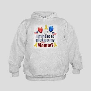 Pick up my Mommy Kids Hoodie